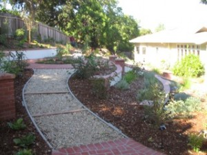 Water Collection System landscape design