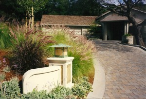 Residential Landscape Designer Entryway and driveway