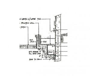 Custom fountain detailed plan